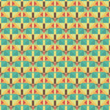 Graphic seamless colorful pattern. Flat style Royalty Free Stock Image