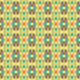 Graphic seamless colorful pattern. Flat style Stock Photos