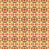 Graphic seamless colorful pattern. Flat style Royalty Free Stock Photos