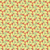 Graphic seamless colorful pattern. Flat style Royalty Free Stock Photo