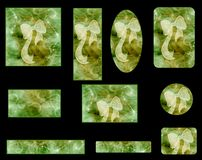 Graphic set Stock Photos