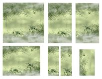 Graphic set Stock Images
