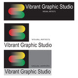 Graphic studio logo Royalty Free Stock Images