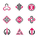 Graphic symbols and technology concept Royalty Free Stock Photo