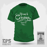 Graphic T- shirt design Royalty Free Stock Photos