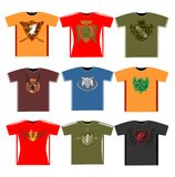 Graphic t-shirts Royalty Free Stock Photos