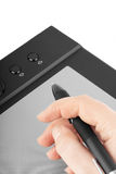 Graphic tablet Royalty Free Stock Images