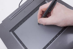 Graphic tablet Stock Images