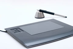 Graphic tablet Royalty Free Stock Photography