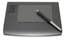 Graphic tablet Stock Image