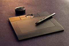 Graphic tablet Stock Photos
