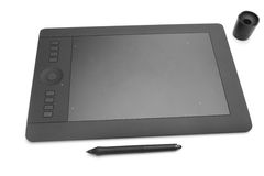 Graphic tablet Stock Photography