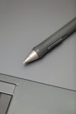 Graphic tablet and stylus Stock Photography