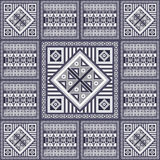 Graphic texture with Mexican pattern 33 Stock Photography
