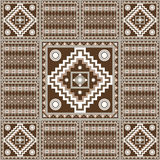 Graphic texture with Mexican pattern 31. Geometrical abstract pattern from decorative ethnic ornament elements .  African, Mexican, Turkmen texture background Royalty Free Stock Images