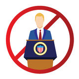 Graphic to Impeach the President Royalty Free Stock Photos