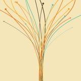 Graphic tree Stock Image