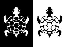Graphic turtle Royalty Free Stock Photo