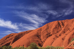 Graphic Uluru image Royalty Free Stock Images
