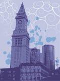 Graphic of urban city Stock Photos