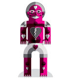 Graphic vector illustration, anthropomorphic character  Royalty Free Stock Photo
