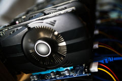 Graphic video Card Royalty Free Stock Photo