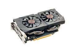 Graphic video card Stock Image