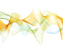 Graphic wave background Stock Photo