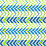 Graphic Zigzag Lines Seamless Pattern Background Stock Photos