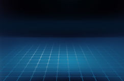 Graphical abstract background grid lines on blue ground floor. Graphical abstract background, grid lines on blue ground floor Royalty Free Stock Image