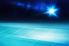 Graphical abstract technology background with lens flare Concept. Graphical abstract technology background with lens flare at right edge. suitable for news Royalty Free Stock Image