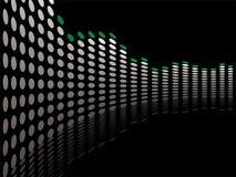 Graphical bend. Graphical equaliser illustration ideal as a background or desktop vector illustration