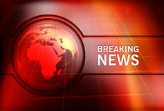Graphical Breaking News Background Concept Series Royalty Free Stock Photo