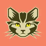 Graphical cat vector– stock illustration file. Graphical cat vector – stock illustration fileneditable vector file stock illustration
