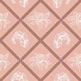 Graphical decoration with floral elements 1 Royalty Free Stock Photos