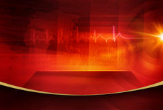 Graphical Digital World News background Concept Series 62 Stock Image