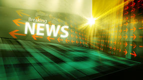 Graphical modern digital world news background I Royalty Free Stock Images