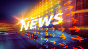 Graphical modern digital world news background III Royalty Free Stock Photography