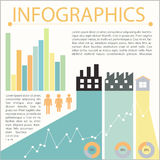 A graphical representation Stock Images