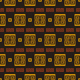 Graphical seamless pattern with antique element Royalty Free Stock Image