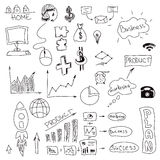 Graphical symbols on white. Vector illustration Royalty Free Stock Photo