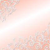 Graphically floral background for the holidays Royalty Free Stock Images