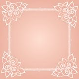Graphically floral background for the holidays Royalty Free Stock Photo