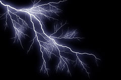 Graphically rendered bolt of lightning Royalty Free Stock Photo