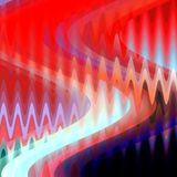 Colorful red blue dark vivid lights, geometries, colors, geometries lights, abstract background. Graphics, blue orange pink red white, bright abstract lines stock illustration