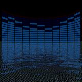 Graphics equalizer Royalty Free Stock Image