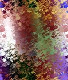 Graphics, vivid leaves geometries abstract lights, abstract background stock photos