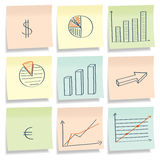 Graphics notes. Royalty Free Stock Images