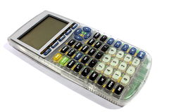 Graphing Calculator stock image