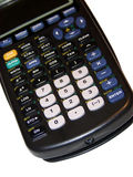 Graphing Calculator Royalty Free Stock Photography